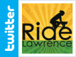 Ride Lawrence Twitter Account