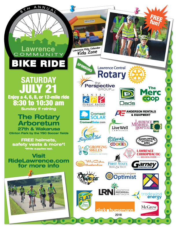 2018 Lawrence Community Bike Ride (Summer)
